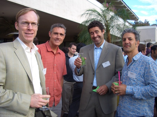 Lee Kirkpatrick, Jim Brock, Dave Geary and Kamran Mohsenin