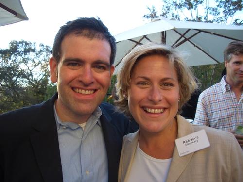 Curtis Smolar and Rebecca Eisenberg