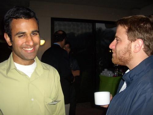 Sumir Meghani and Stewart Butterfield